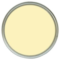 In a soft camomile yellow tone, a water based paint with a soft matt finish for use on interior walls and ceilings.