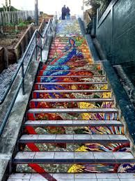 mosaic stairs - Google Search