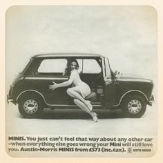 Car advertising in the 1960s an