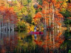 Plan your heavenly fall retreat at Beavers Bend State Park in southeastern Oklahoma.