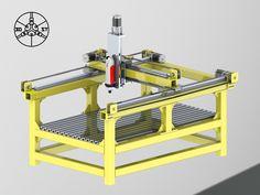 3D_ST-3D модели и чертежи станков с чпу.