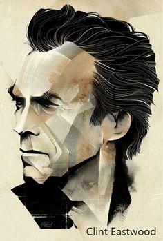 """""""Clint Eastwood"""" Conocido por su estilo western, ha destacado como actor y director a lo largo de su trayectoria. Películas como Million Dolar Baby, Gran Torino y American Sniper lo han llevado a conseguir importantes galardones. #OjoCinematográfico #Cine #Directores #Películas #UCSG #ComunicaciónSocial"""