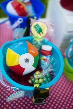 Colorful Pool themed birthday party via Kara's Party Ideas KarasPartyIdeas.com #lpoolparty (45)