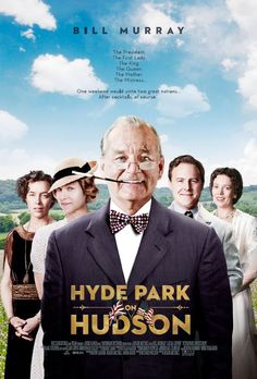 Hyde Park on Hudson - A witty dramady revolving around FDR and bubbling over with witty lines, colorful characters, and a hot dog picnic.