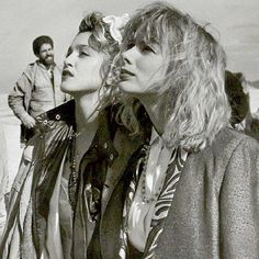 On location filming the iconic Desperately Seeking Susan w/Rosanna Arquette  and Madonna