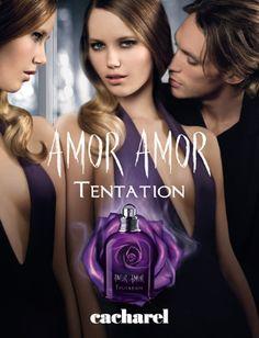 Publicité Amor Amor Tentation - Parfumerie et parapharmacie - Parfumeries - Cacharel
