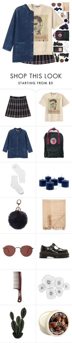 """""""Some people live just for the fame"""" by justonegirlwithdreams ❤ liked on Polyvore featuring Retrò, Monki, Armand Diradourian, Ray-Ban, Dr. Martens, Cyan Design, Abigail Ahern, The Body Shop and 241"""