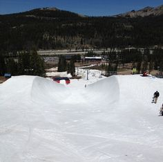 The Halfpipe at Woodward At Tahoe June 2012