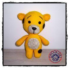 Crochet bear, amigurumi toy by Zwooczki on Etsy