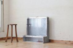 A12030珍品 古いブリキのガラスケース1アンティーク インテリア 雑貨 家具 Antique glass case ¥15300yen 〆04月26日