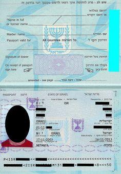 Israel Travel, Passport, Travelling