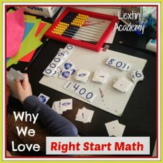 Lextin Academy of Classical Education: What We've Learned from Right Start Math Our favorite homeschool math curriculum!