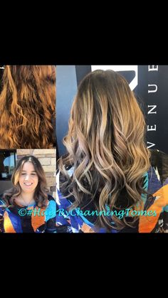 #HairByChanning Tomes Facebook  Hair by Channing Ig   @SwearOnMyHair  Balayage blonde Sam villa olaplex curls waves brunette violet silver red lips volume redken big hair long hair short thin fine huge curl highlights baby lights sombre color melt colormelt ombré angled bob lob stacked bright pastel