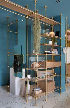 Hotel Room Design, Restaurant Interior Design, Cafe Interior, Modern Pergola Designs, Art Deco Bar, Shelving Design, Small Room Bedroom, Store Design, Design Design