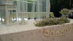 GRANADAte Decoración mesa de ceremonia civil