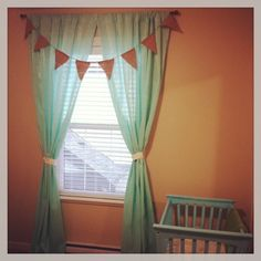 DIY nursery decor - At Home and Happy