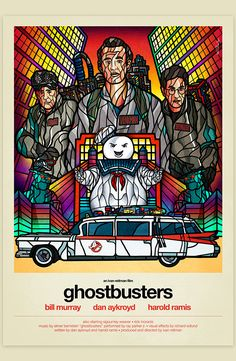 Childhood Movies Tribute: Ghostbusters - by Van Orton Design