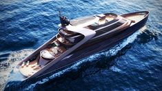 Italian shipyard, Rossinavi has released two new and riveting luxury yachts, the eye-catching I-Tron and the astounding Attitude. These yacht concepts are bound Flora Und Fauna, Yacht Design, Luxury Yachts, Water Crafts, Attitude, Sailing, To Go, Boats, Sick