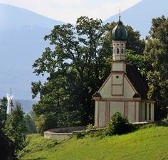 Murnau am Staffelsee, Murnauer Moos Kirche St. Georg (Garmisch-Partenkirchen) BY DE