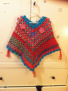 Check out this item in my Etsy shop https://www.etsy.com/listing/260082077/girls-poncho-2t-4t