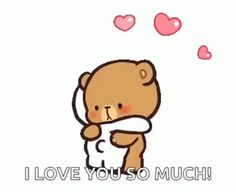 The perfect MilkAndMocha Hug Cute Animated GIF for your conversation. Discover and Share the best GIFs on Tenor. Cute Love Gif, Cute Love Pictures, Cute Cat Gif, Cute Couple Cartoon, Cute Cartoon Pictures, Gif Mignon, Hugs And Kisses Quotes, Cute Hug, Hug Gif