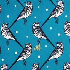 http://www.kawaiifabric.com/en/p6252-blue-atori-bird-echino-Decoro-cotton-sateen-fabric.html