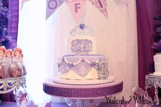 Sofia The First Birthday Party Cake