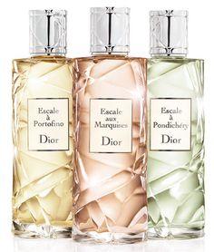 Collection Les Escales de Christian Dior, una colección de 3 fragancias inspiradas en lugares exóticos y llenos de glamour que nos tiene absolutamente hechizados.