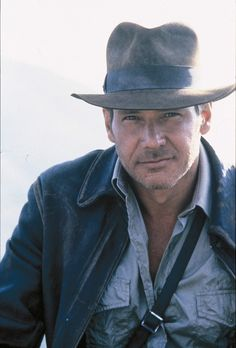 Harrison Ford as Indiana Jones...... what Hayden wants to be this year for Halloween