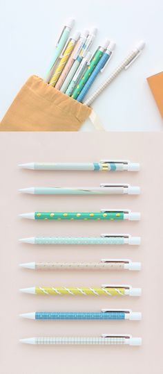 This is one of the most beautiful pencils I've ever laid eyes on! This Gold Point Mechanical Pencil is beautifully designed with cute patterns and gold foil accents. The 0.5mm lead pencil has a pencil clip and an eraser, too! It's lightweight and comfortable on top of it all. It comes in 8 uniquely gorgeous designs sure to fit any style. Pens are always lovely, but with pencils this gorgeous they'll easily become my next obsession! I'm adding these to my stationery collection, so check them…