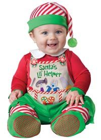 Santa's Lil' Helper Baby Costume - Christmas Costumes