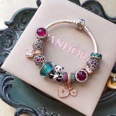 Pandora panda charm bracelet