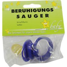 BERUHIGUNGSSAUGER Kirschf.Lat.0-6 M.dunkelblau:   Packungsinhalt: 1 St PZN: 00547968 Hersteller: Dr. Junghans Medical GmbH Preis: 0,80…