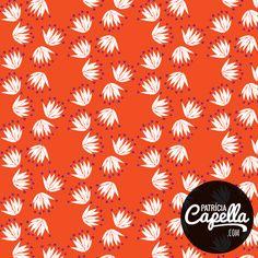 Estampa Cassi - por Patrícia Capella http://patriciacapella.com/cassi.php