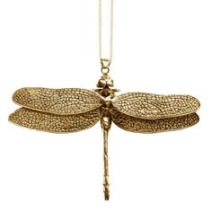 Bronze Dragon Fly Pendant