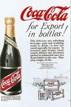 1920's Promotion for Coca-Cola Export Class   digitaldeliftp.com
