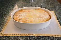 Sauerrahm - Topfen Auflauf Diy Food, Soul Food, Cornbread, Vanilla Cake, Cheesecake, Deserts, Pudding, Sweets, Eat