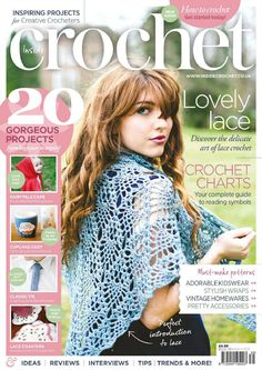 MAGAZINE: Inside Crochet Issue 39 2013 ❤️LCM-MRS❤️ with diagrams.