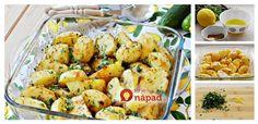 Voňavé pečené zemiaky