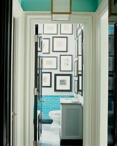 Elle Decor magazine features Interior Designer Steven Gambrel's own home