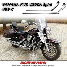 """YAMAHA XVS 1300A için Highway Hawk krom egzos stoklarımızda sınırlı! ACELE EDİN... Aşağıdaki numaralardan bizlerle iletişime geçebilirsiniz. TT Custom Mecidiyeköy: 0212 212 5278 TT Custom Kızıltoprak: 0216 541 9190 TT Custom Antalya: 0242 349 2830  7/24: 0535 882 8282 / 0536 245 4545 ttcustomshop.net  Limited Highway Hawk exhausts NOW available in our stocks for YAMAHA XVS 1300A... HURRY UP!  #exhaust #highwayhawk #engine #motorbike #motorcycles #bike #bikestagram #bikelife #rideout #road"