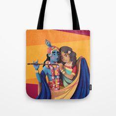Je voulais transphormer mon illustration numerique de Radha et Krishna en objet du quotidien, le rendre plus concret. En faire quelque chose que je puisse toucher.