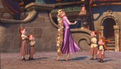 dancing with her fellow subjects, without even knowing it. well Eugene stole her crown without knowing it