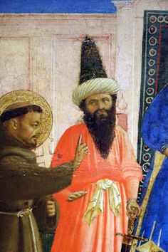 """ Perdone, estoy buscando a un señor con cabeza reversible "" (Dondi é il uommo della testa bidireccionalli?) Fra Angélico"