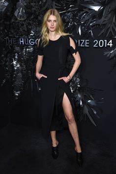 Sigrid Agren attends the Hugo Boss Prize 2014