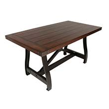New dining table choice - better size for the room.