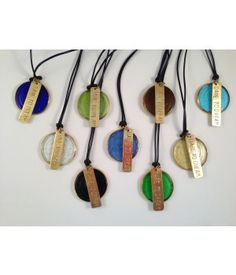 Recycled Glass Necklaces from Venture Imports #FairTrade #Handmade