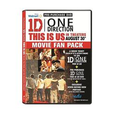 One Direction This Is Us (Pre-Purchase DVD) (Widescreen) (360 ARS) ❤ liked on Polyvore featuring one direction and movies