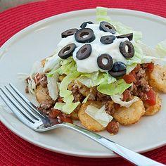 Tater Tot Taco @ FoodBlogs.com