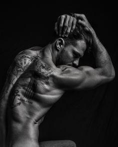 Sublime portrait of top model Diego Miguel by Matthew Pandolfe